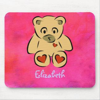 Customizable Teddy Bear Toy Mouse Pad