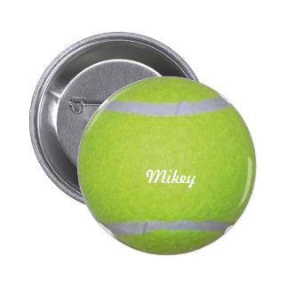 Customizable Tennis Ball Pins