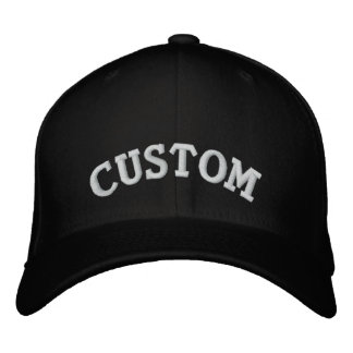 Customizable Text Baseball Cap