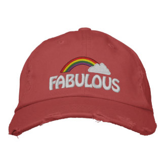 Customizable Text Rainbow Cap Embroidered Cap
