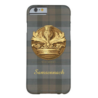 Customizable Thistle of Scotland Emblem Barely There iPhone 6 Case