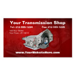 CUSTOMIZABLE Transmission Repair Business Card