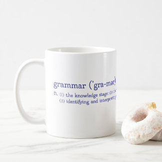 CUSTOMIZABLE Trivium Grammar Stage Coffee Mug