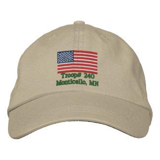 Customizable Troop Hat Baseball Cap