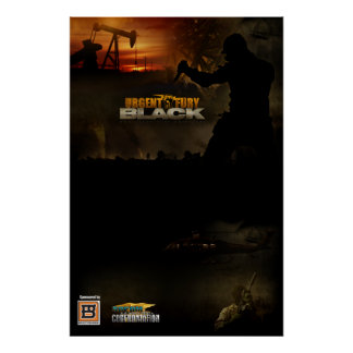 Customizable UF Black Poster