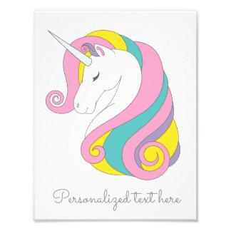 Customizable Unicorn Print