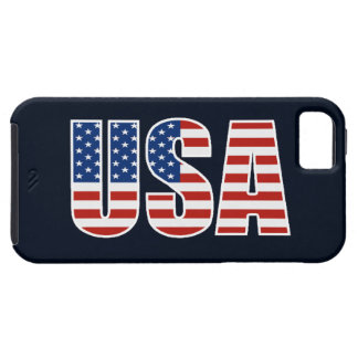 Customizable USA American Flag iPhone 5 Cover