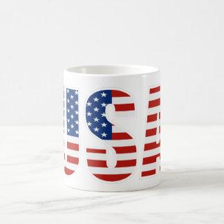 Customizable USA American Flag Mug