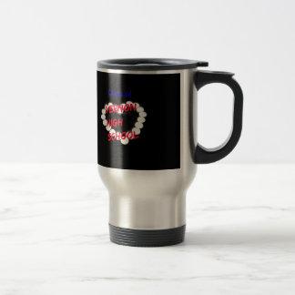 Customizable Vernon High School Candle Heart Travel Mug