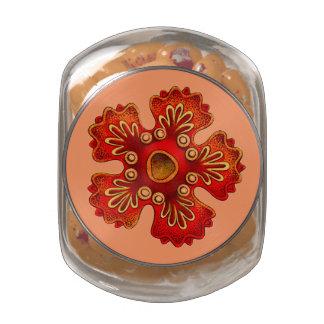 Customizable Vintage Haeckel Glass Jar