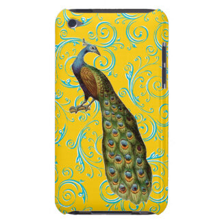 Customizable Vintage Peacock Swirl Barely There iPod Covers