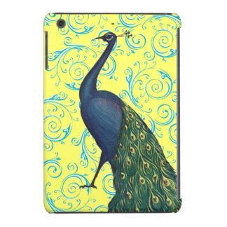 Customizable Vintage Peacock Swirl iPad Mini Case