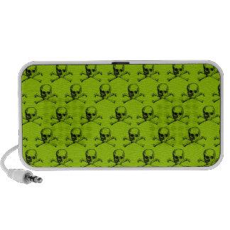 Customizable Vintage Skull & Crossbones Mp3 Speaker