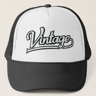 Customizable Vintage Trucker Hat