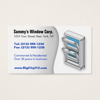 CUSTOMIZABLE Window Installer BC Business Card