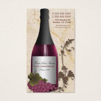 Customizable wine grape vine business cards