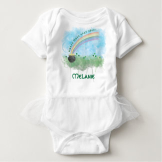 Customizable Worth More Than Gold St. Pat's Day Baby Bodysuit