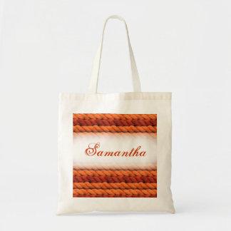 Customizable yarn craft gift bag