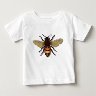 Customizable Yellow Bumble Bee Baby T-Shirt