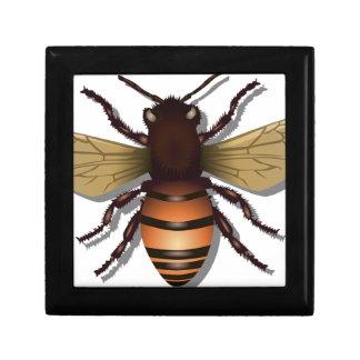 Customizable Yellow Bumble Bee Gift Box