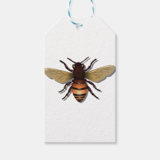 Customizable Yellow Bumble Bee Gift Tags