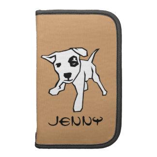 Customize-able Pit Bull Folio Smartphone Organizers