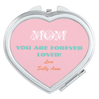 Customize Adorable Compact Mirror For Mother