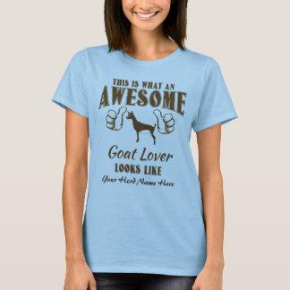 CUSTOMIZE Awesome Goat Lover Nigerian Dwarf Goat T-Shirt