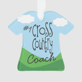Customize Back No 1 Cross Country Coach
