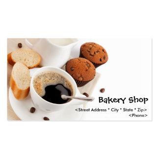 Customize Bakery Shop Business Cards