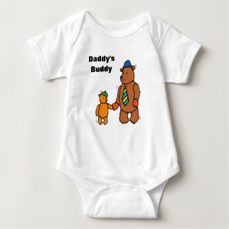 Customize Big & Small Bear Baby Bodysuit