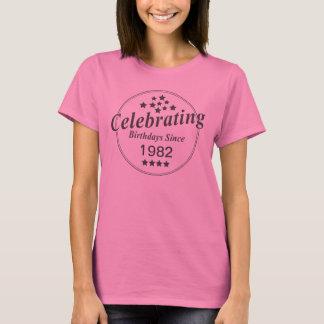 Customize Birth Year Celebration T-Shirt