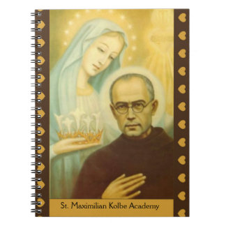 CUSTOMIZE Blessed Virgin Mary St. Maximilian Kolbe Notebook