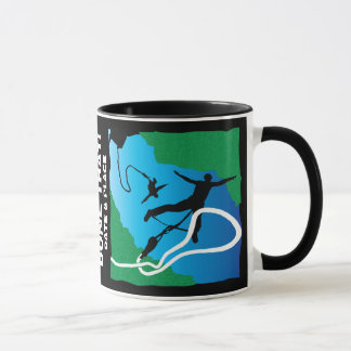 Customize: Bold Graphic Bungee Jump Design Mug