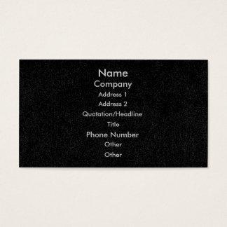 Customize business cards, black speckled denim business card