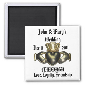 Customize Claddagh Magnet