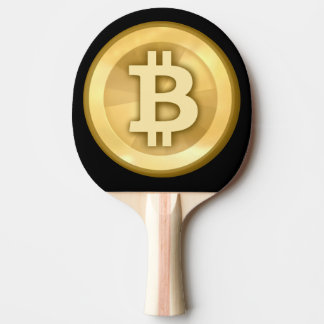 Customize Cool Bitcoin Ping Pong Paddle