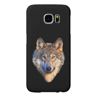 Customize Cool Wolf Head Samsung Galaxy S6 Cases