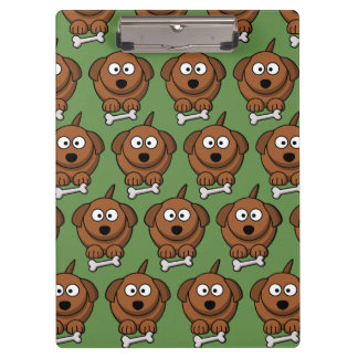 Customize Cute Dog Clipboard