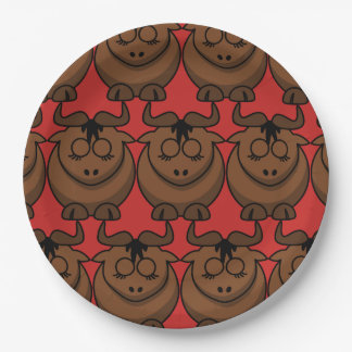 Customize Cute Dog Party Paper Plate