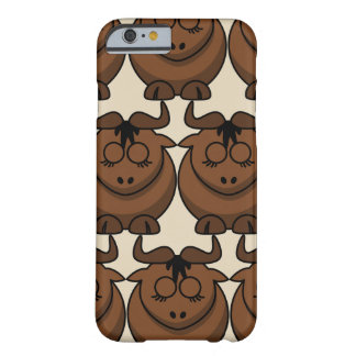 Customize Cute Gnu Barely There iPhone 6 Case