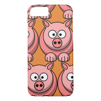 Customize Cute Pig for Kids iPhone 8/7 Case