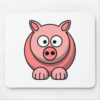 Customize Cute Pig Mousepad for Kids