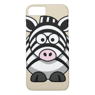Customize Cute Zebra iPhone 8/7 Case