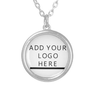 Customize  - Design - Add your logo Round Pendant Necklace