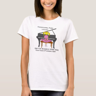 Customize Design For  Piano Teachers  T-shirt