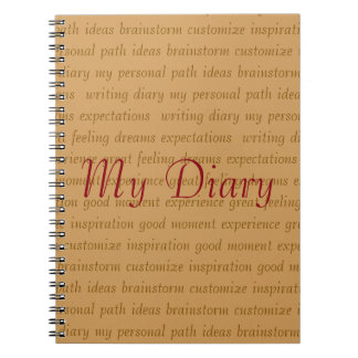 Customize Diary Notebooks
