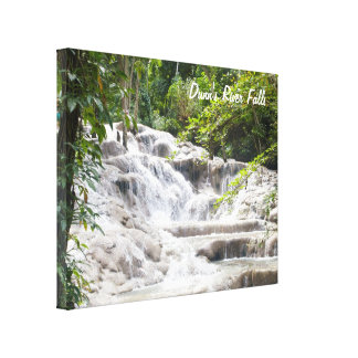 Customize Dunn's River Falls photo Stretched Canvas Prints