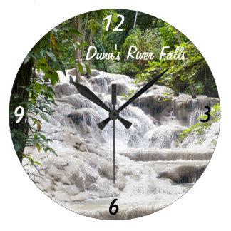 Customize Dunn's River Falls photo Clock