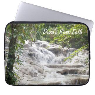 Customize Dunn's River Falls photo Laptop Sleeve